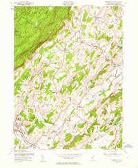 Download a high-resolution, GPS-compatible USGS topo map for Branchville, NJ (1962 edition)