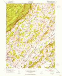 Download a high-resolution, GPS-compatible USGS topo map for Branchville, NJ (1955 edition)
