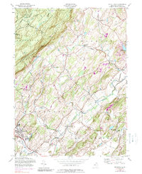 Download a high-resolution, GPS-compatible USGS topo map for Branchville, NJ (1989 edition)