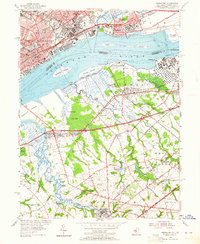 Download a high-resolution, GPS-compatible USGS topo map for Bridgeport, NJ (1964 edition)