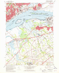 Download a high-resolution, GPS-compatible USGS topo map for Bridgeport, NJ (1969 edition)