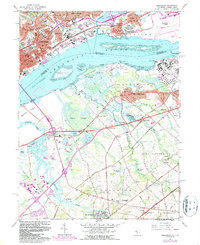 Download a high-resolution, GPS-compatible USGS topo map for Bridgeport, NJ (1987 edition)