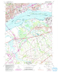 Download a high-resolution, GPS-compatible USGS topo map for Bridgeport, NJ (1991 edition)