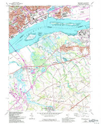 Download a high-resolution, GPS-compatible USGS topo map for Bridgeport, NJ (1994 edition)