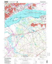 Download a high-resolution, GPS-compatible USGS topo map for Bridgeport, NJ (1999 edition)