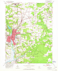 Download a high-resolution, GPS-compatible USGS topo map for Bridgeton, NJ (1964 edition)