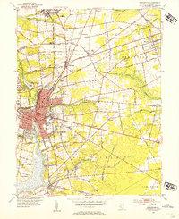Download a high-resolution, GPS-compatible USGS topo map for Bridgeton, NJ (1955 edition)