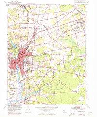 Download a high-resolution, GPS-compatible USGS topo map for Bridgeton, NJ (1972 edition)