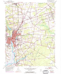Download a high-resolution, GPS-compatible USGS topo map for Bridgeton, NJ (1972 edition)