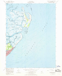 Download a high-resolution, GPS-compatible USGS topo map for Brigantine Inlet, NJ (1970 edition)