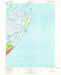 Download a high-resolution, GPS-compatible USGS topo map for Brigantine Inlet, NJ (1962 edition)