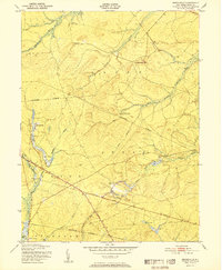 Download a high-resolution, GPS-compatible USGS topo map for Brookville, NJ (1951 edition)