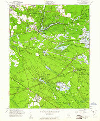Download a high-resolution, GPS-compatible USGS topo map for Browns Mills, NJ (1961 edition)