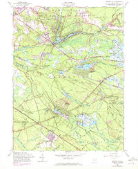 Download a high-resolution, GPS-compatible USGS topo map for Browns Mills, NJ (1972 edition)