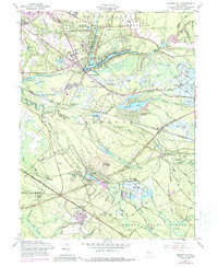 Download a high-resolution, GPS-compatible USGS topo map for Browns Mills, NJ (1988 edition)