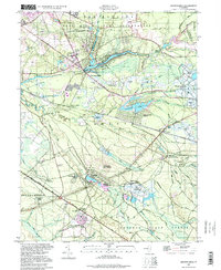 Download a high-resolution, GPS-compatible USGS topo map for Browns Mills, NJ (1998 edition)