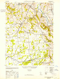 Download a high-resolution, GPS-compatible USGS topo map for Cakepoulin Creek, NJ (1952 edition)