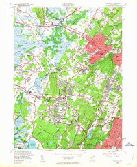 Download a high-resolution, GPS-compatible USGS topo map for Caldwell, NJ (1963 edition)