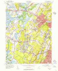 Download a high-resolution, GPS-compatible USGS topo map for Caldwell, NJ (1956 edition)
