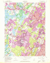Download a high-resolution, GPS-compatible USGS topo map for Caldwell, NJ (1972 edition)