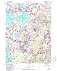 Download a high-resolution, GPS-compatible USGS topo map for Caldwell, NJ (1987 edition)