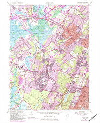 Download a high-resolution, GPS-compatible USGS topo map for Caldwell, NJ (1984 edition)