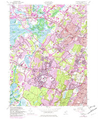 Download a high-resolution, GPS-compatible USGS topo map for Caldwell, NJ (1982 edition)