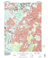 Download a high-resolution, GPS-compatible USGS topo map for Caldwell, NJ (1998 edition)