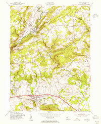 Download a high-resolution, GPS-compatible USGS topo map for Califon, NJ (1955 edition)