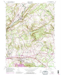 Download a high-resolution, GPS-compatible USGS topo map for Califon, NJ (1988 edition)