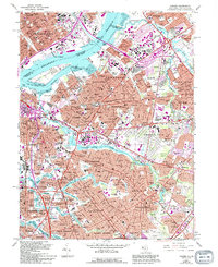 Download a high-resolution, GPS-compatible USGS topo map for Camden, NJ (1994 edition)