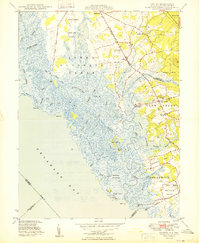 Download a high-resolution, GPS-compatible USGS topo map for Canton, NJ (1949 edition)