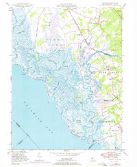 Download a high-resolution, GPS-compatible USGS topo map for Canton, NJ (1972 edition)