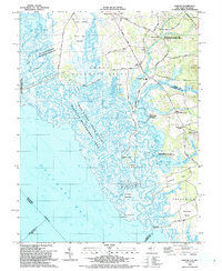 Download a high-resolution, GPS-compatible USGS topo map for Canton, NJ (1993 edition)