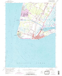 Download a high-resolution, GPS-compatible USGS topo map for Cape May, NJ (1972 edition)