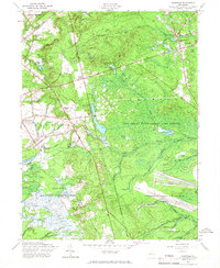 Download a high-resolution, GPS-compatible USGS topo map for Cassville, NJ (1966 edition)