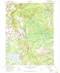 Download a high-resolution, GPS-compatible USGS topo map for Cassville, NJ (1972 edition)