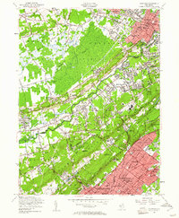 Download a high-resolution, GPS-compatible USGS topo map for Chatham, NJ (1961 edition)