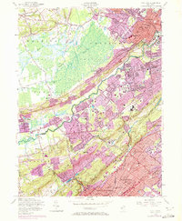 Download a high-resolution, GPS-compatible USGS topo map for Chatham, NJ (1972 edition)