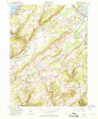 Download a high-resolution, GPS-compatible USGS topo map for Chester, NJ (1969 edition)
