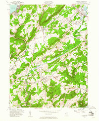 Download a high-resolution, GPS-compatible USGS topo map for Chester, NJ (1961 edition)