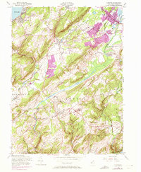 Download a high-resolution, GPS-compatible USGS topo map for Chester, NJ (1972 edition)