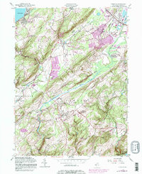 Download a high-resolution, GPS-compatible USGS topo map for Chester, NJ (1987 edition)