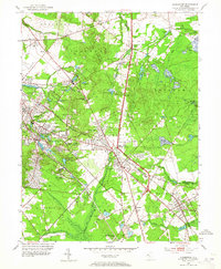 Download a high-resolution, GPS-compatible USGS topo map for Clementon, NJ (1965 edition)