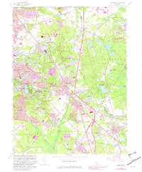 Download a high-resolution, GPS-compatible USGS topo map for Clementon, NJ (1982 edition)