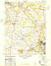 Download a high-resolution, GPS-compatible USGS topo map for Columbus, NJ (1948 edition)