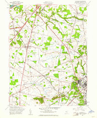 Download a high-resolution, GPS-compatible USGS topo map for Columbus, NJ (1961 edition)