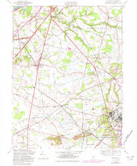 Download a high-resolution, GPS-compatible USGS topo map for Columbus, NJ (1982 edition)