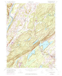 Download a high-resolution, GPS-compatible USGS topo map for Culvers Gap, NJ (1974 edition)