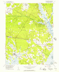 Download a high-resolution, GPS-compatible USGS topo map for Dividing Creek, NJ (1957 edition)